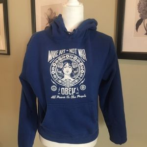 Obey Hoodie-Size Medium (small)